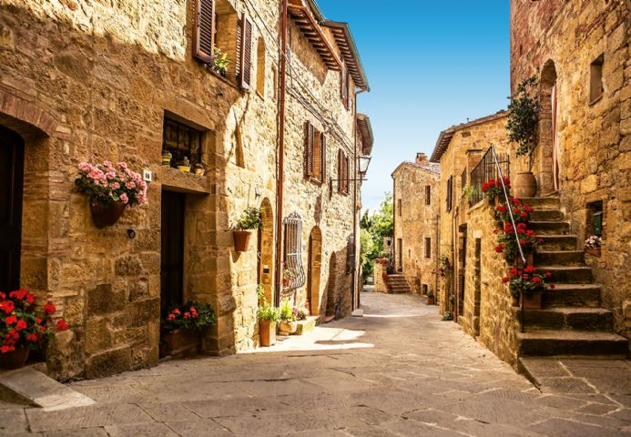 Photo wallpapers Tuscany Village| Shop online